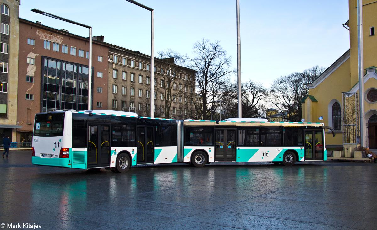 Tallinn, MAN A40 Lion's City GL NG323 № 1037 Tallinn — MAN busside IV partii linnaliinide tarbeks (normaal- ja liigendbussid)