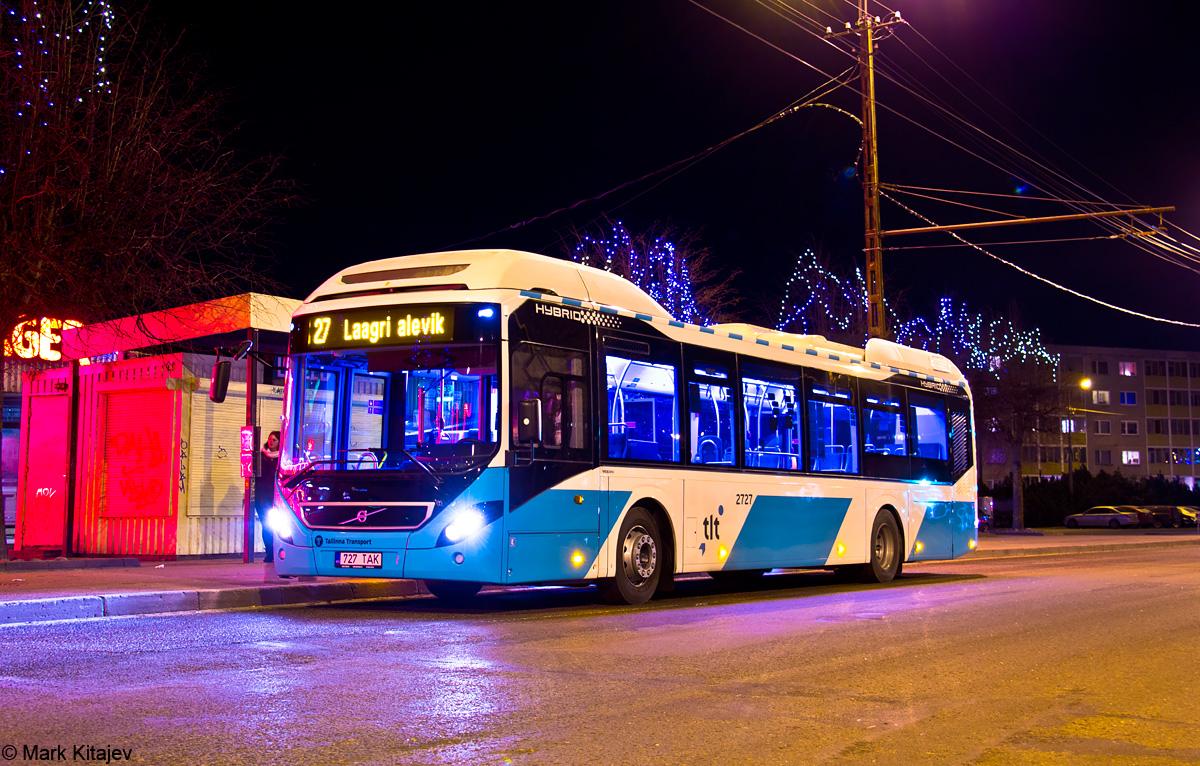 Tallinn, Volvo 7900 Hybrid № 2727