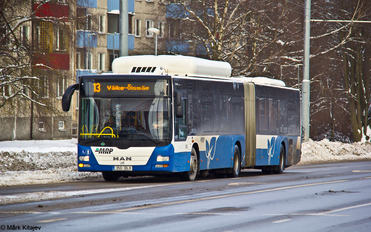 Tallinn, MAN A23 Lion's City G NG313 CNG № 350