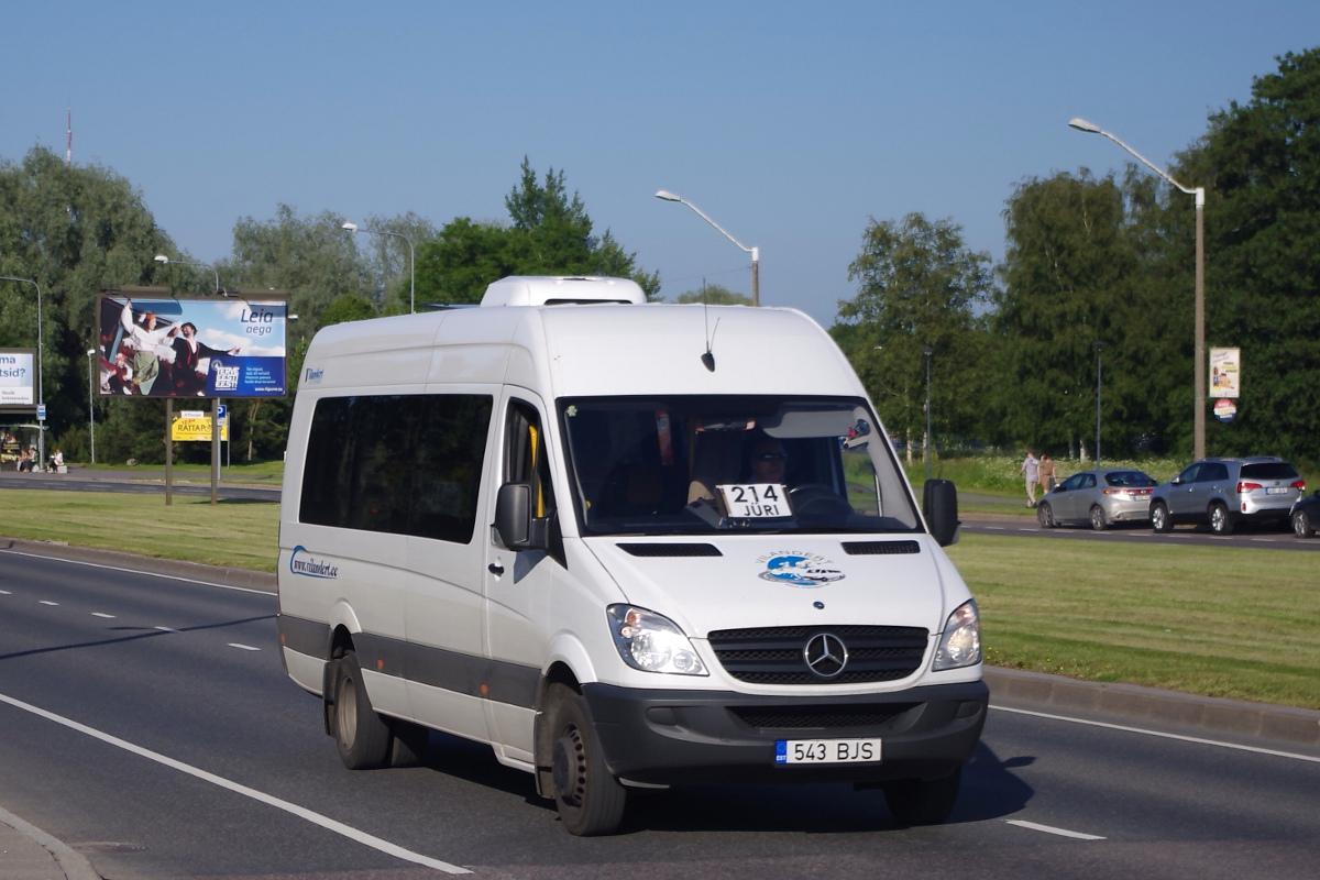 Tallinn, Mercedes-Benz Sprinter 516CDI № 543 BJS