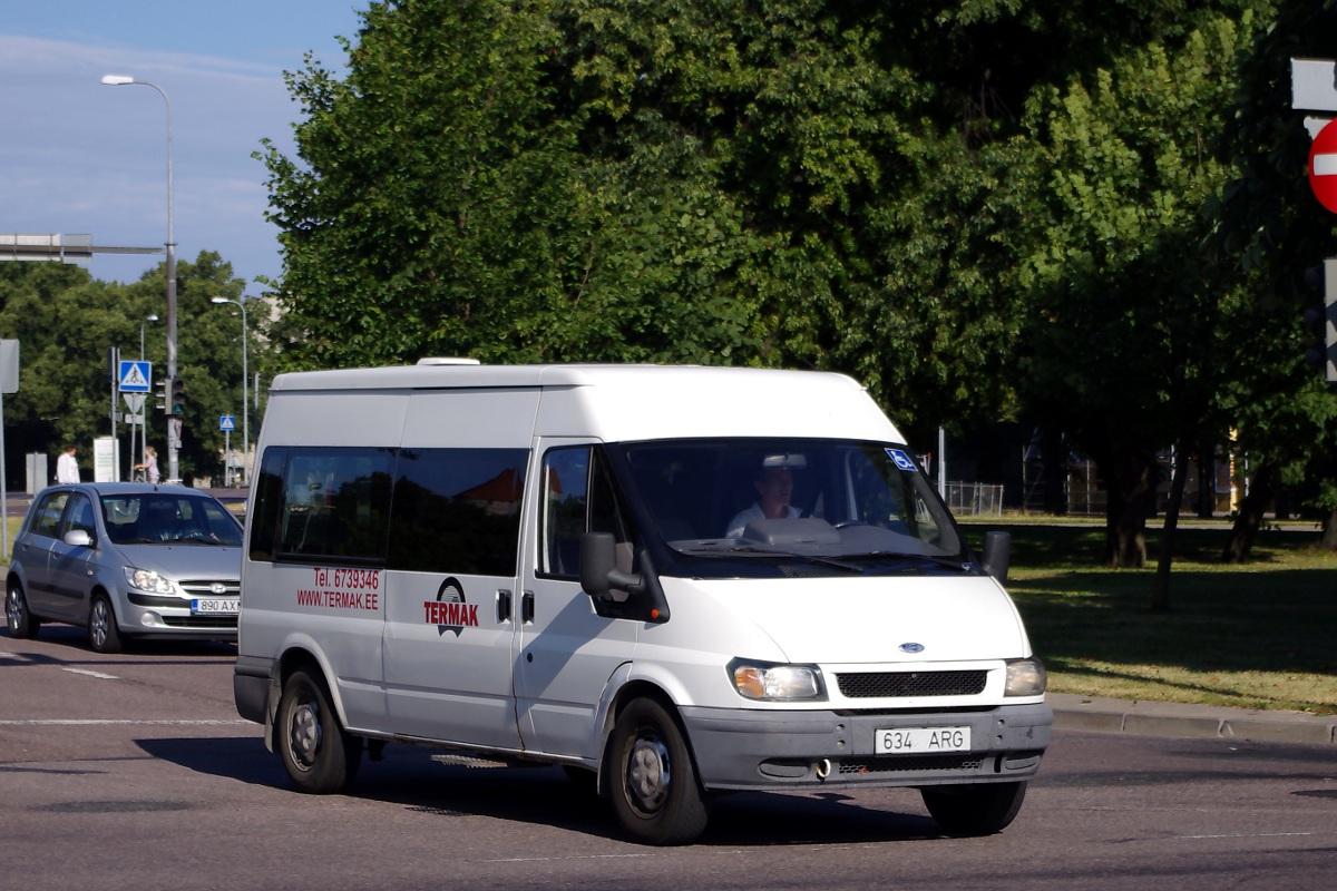 Tallinn, Ford Transit 350L № 634 ARG