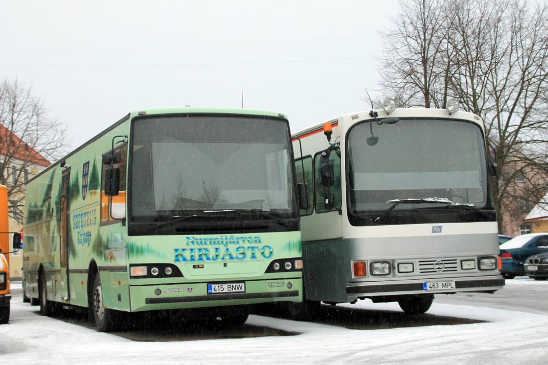 ERIOTSTARBELISED SÕIDUKID (Tallinn)
