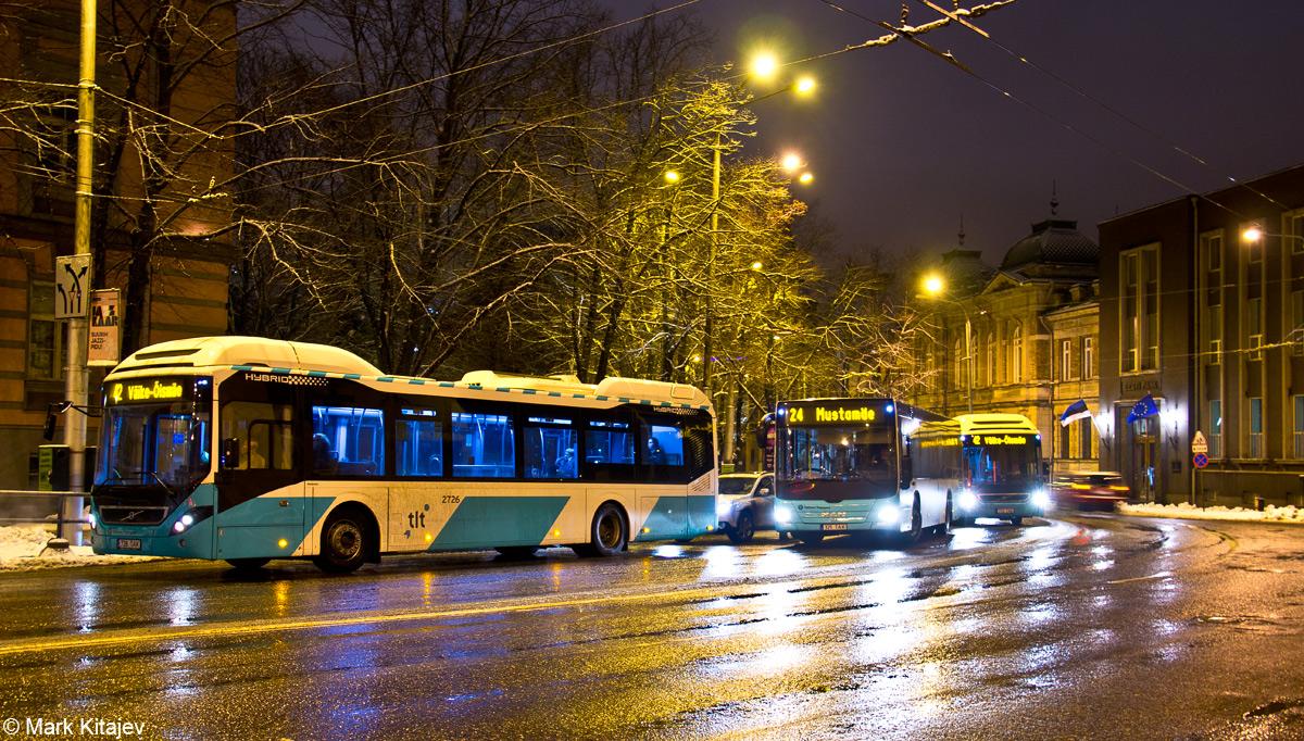 Tallinn, Volvo 7900 Hybrid № 2726 VARIA (Tallinn)