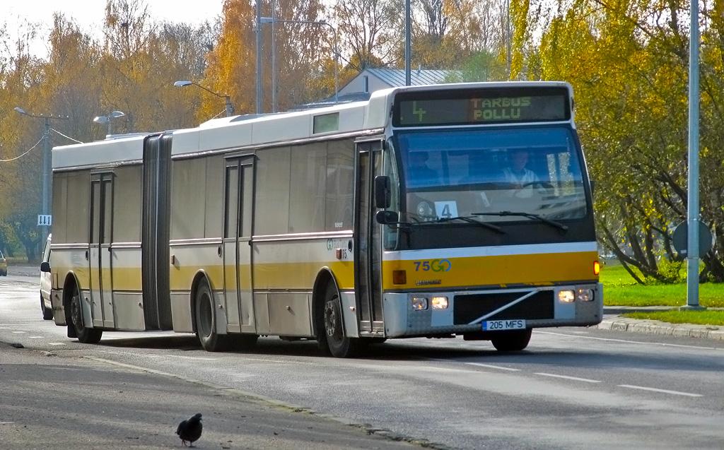 Tartu, Berkhof Europa 2000A Duvedec № 75
