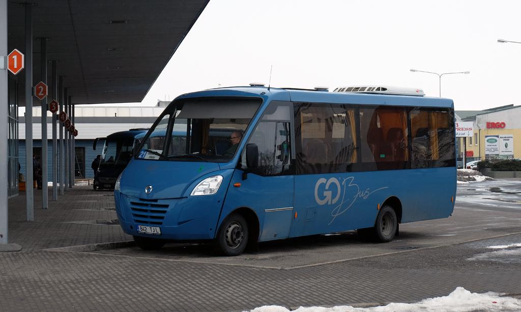 Rakvere, Kapena Thesi Intercity № 842 TJL