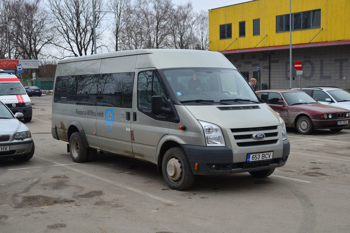 Paide, Ford Transit 430L EF Bus № 653 BCV