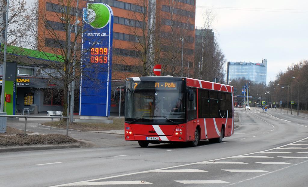 Tartu, МАЗ-206.069 № 834