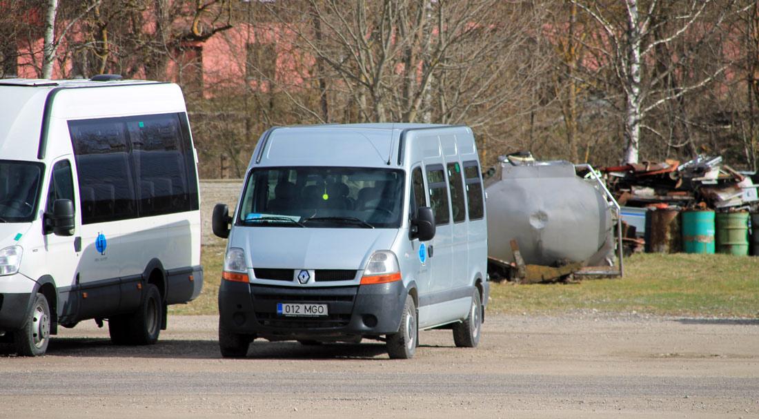 Lihula, Renault Master № 012 MGO
