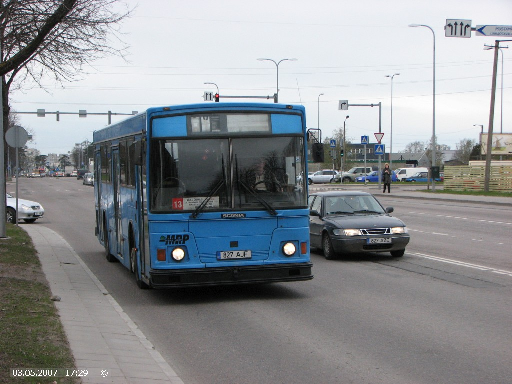 Tallinn, Duple Metsec T-41 City № 827