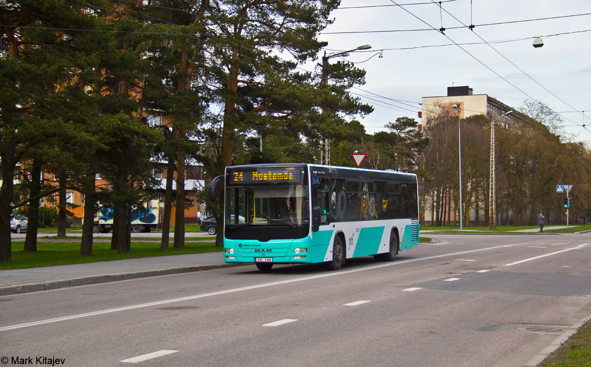 Tallinn, MAN A78 Lion's City LE № 2331