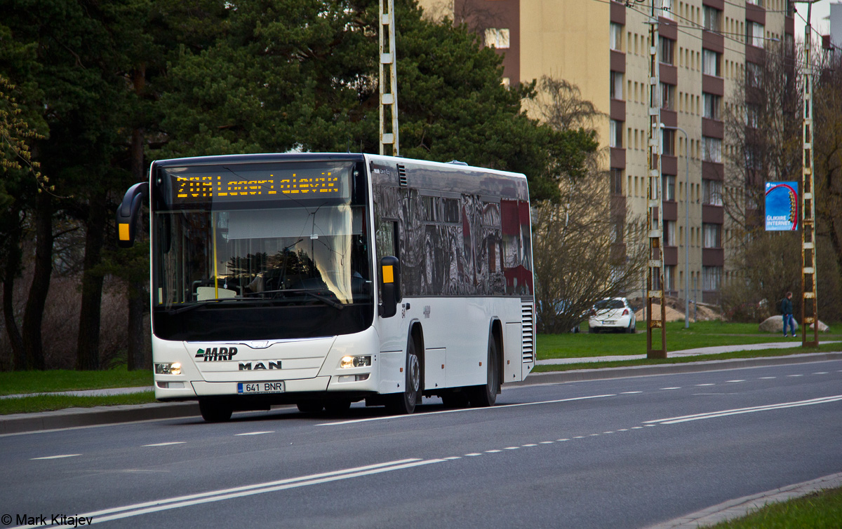 Tallinn, MAN A78 Lion's City LE EL293 № 641