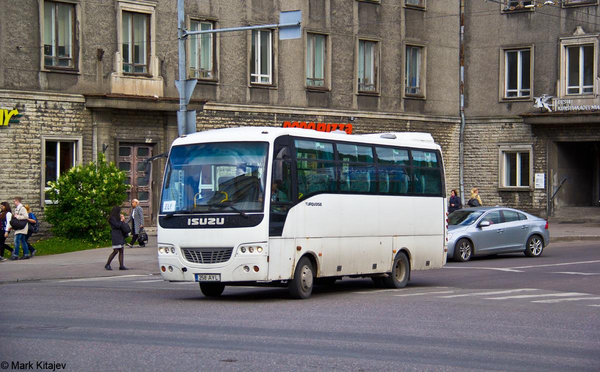 Tallinn, Isuzu Turquoise № 743 AXF