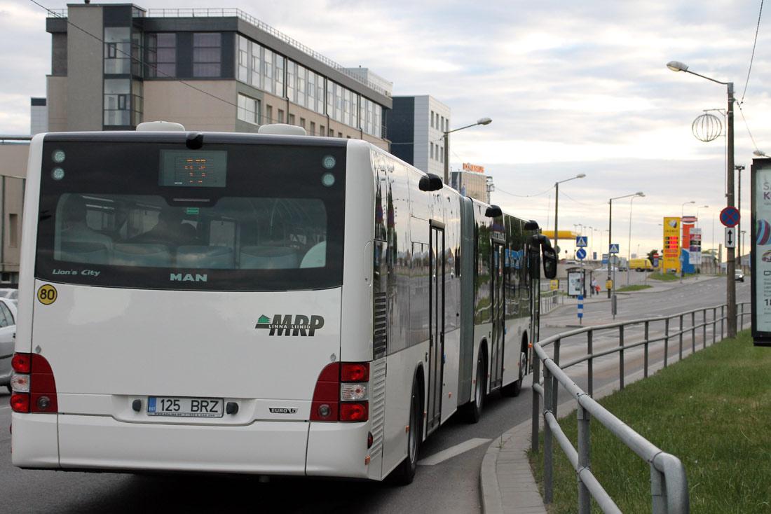 Tallinn, MAN A23 Lion's City L NG323 № 125