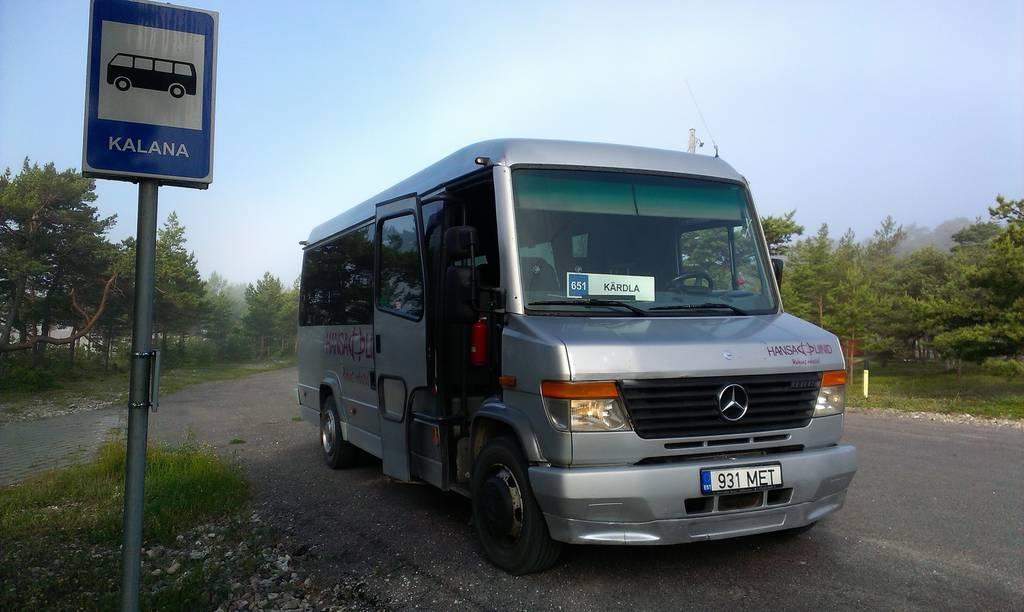 Kärdla, Mercedes-Benz Vario 814D № 931 MET