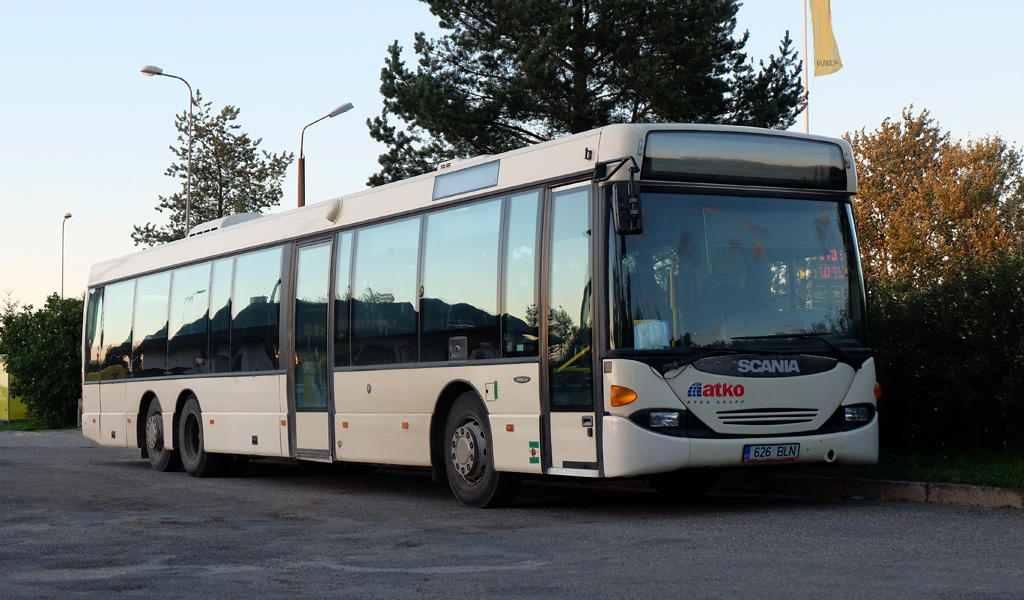 Kohtla-Järve, Scania OmniLink CL94UB 6x2 № 626 BLN
