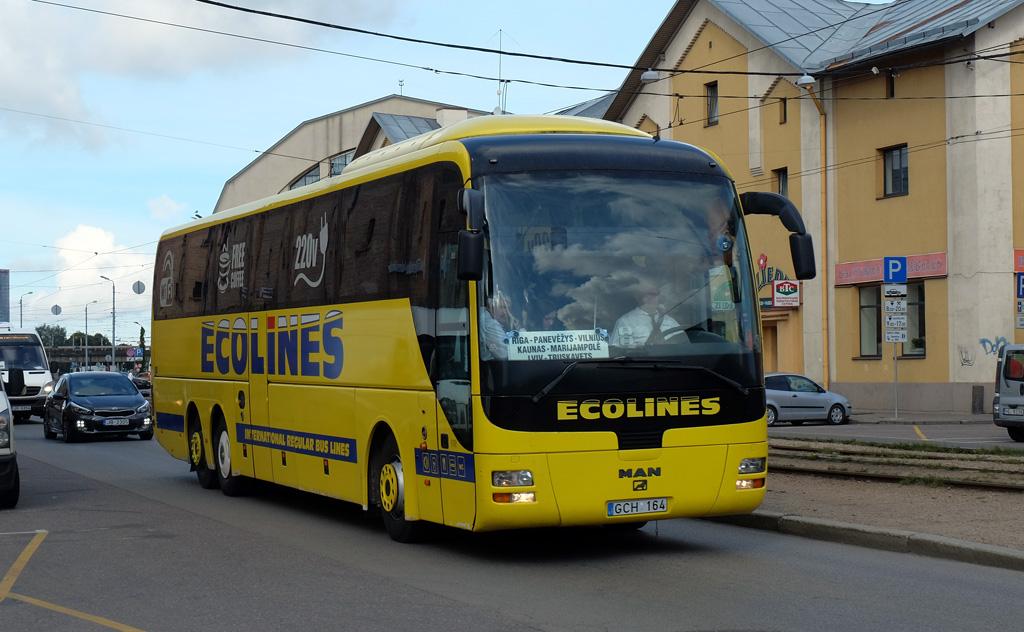Tallinn, MAN R08 Lion's Top Coach RHC464 № 287
