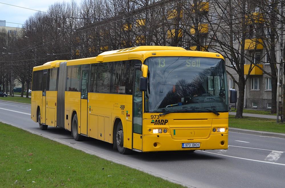 Tallinn, Volvo 8500 № 973