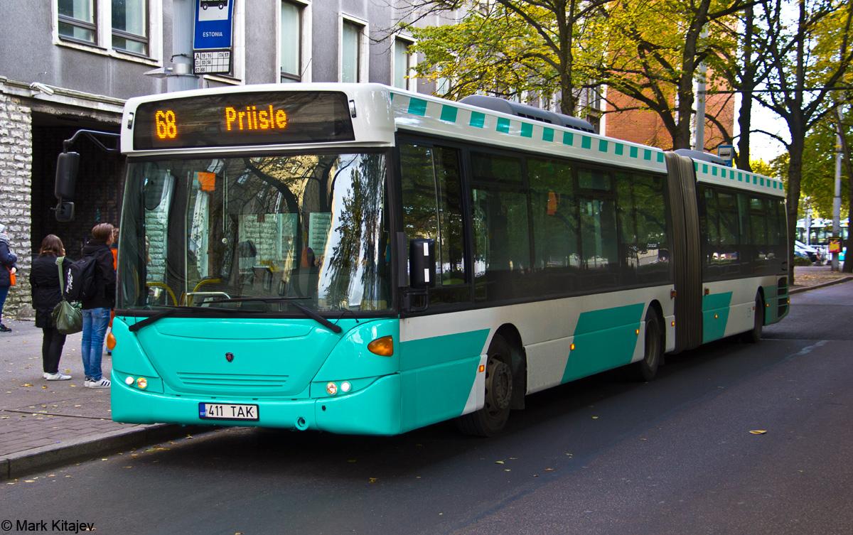 Tallinn, Scania OmniLink CK310UA 6X2LB № 3411