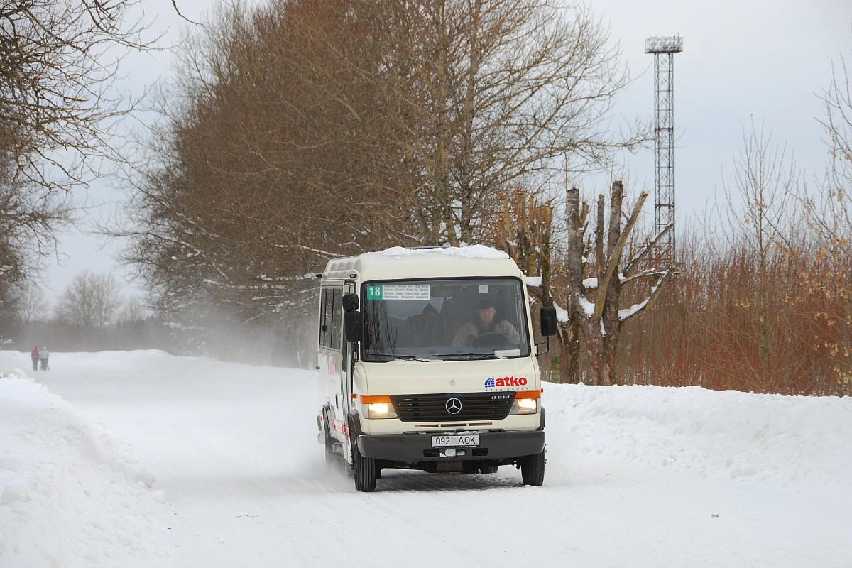 Kohtla-Järve, Mercedes-Benz Vario 814D № 092 AOK