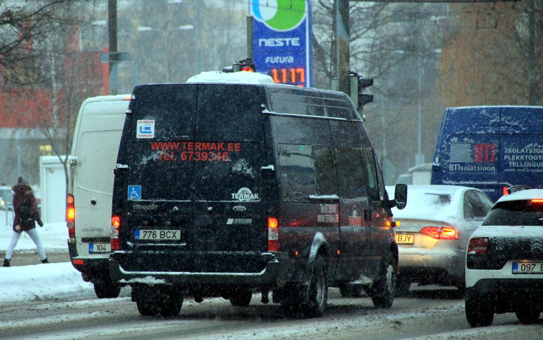 Tallinn, Ford Transit 460L EF № 776 BCX
