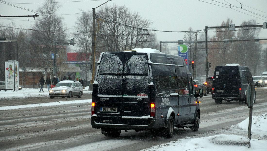 Tallinn, Ford Transit 430L EF Bus № 062 BBG