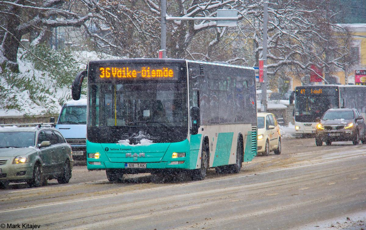 Tallinn, MAN A78 Lion's City LE № 1108
