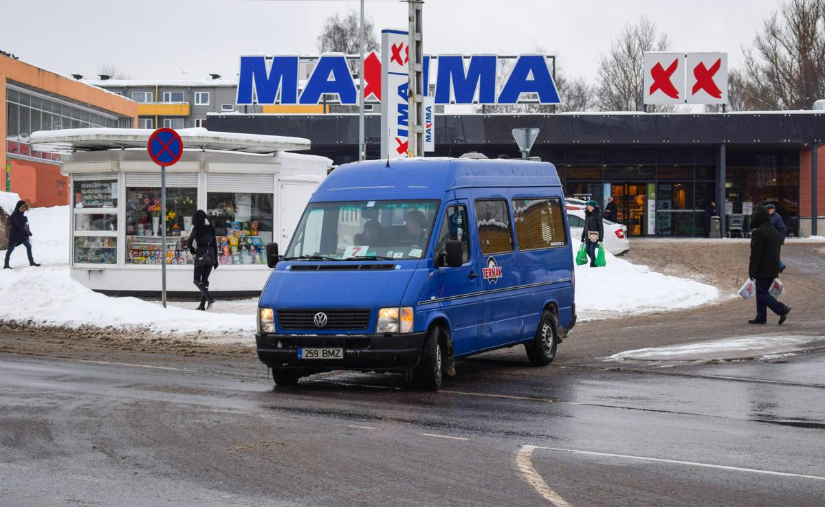 Tallinn, Volkswagen LT35 Kombi № 259 BMZ