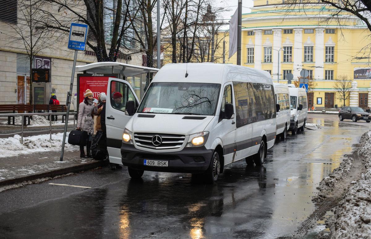 Tallinn, Mercedes-Benz Sprinter 516CDI № 609 BSK