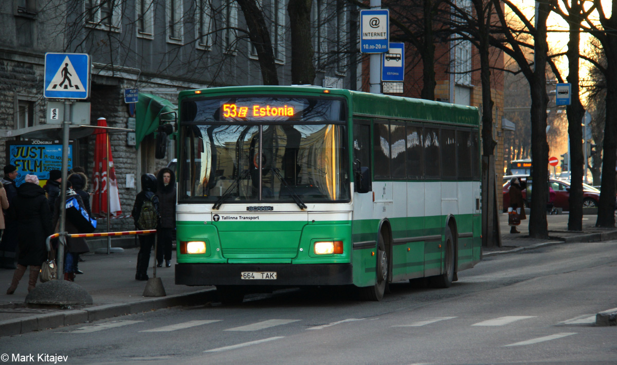 Tallinn, Duple Metsec T-56 City № 3664