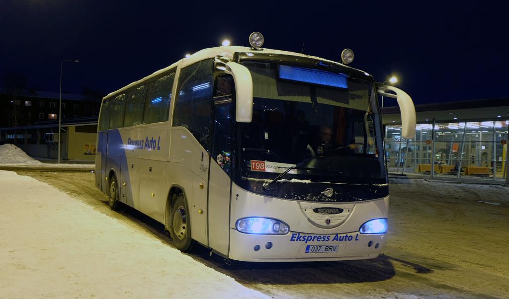 Kohtla-Järve, Irízar Century II 12.35 № 037 BRV