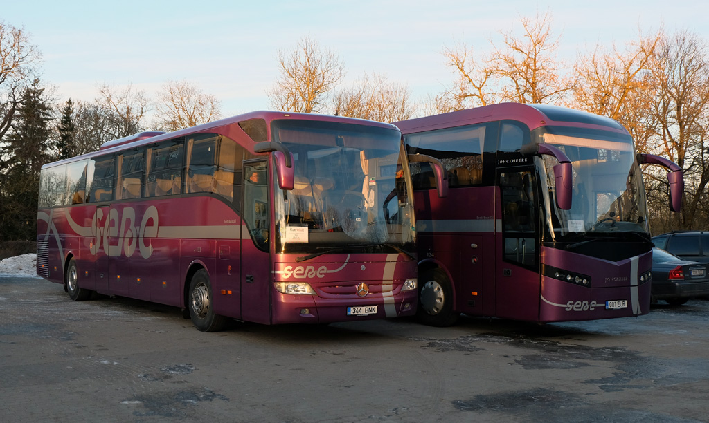 Tallinn, Mercedes-Benz Evobus Tourismo RHD-M/2A № 133