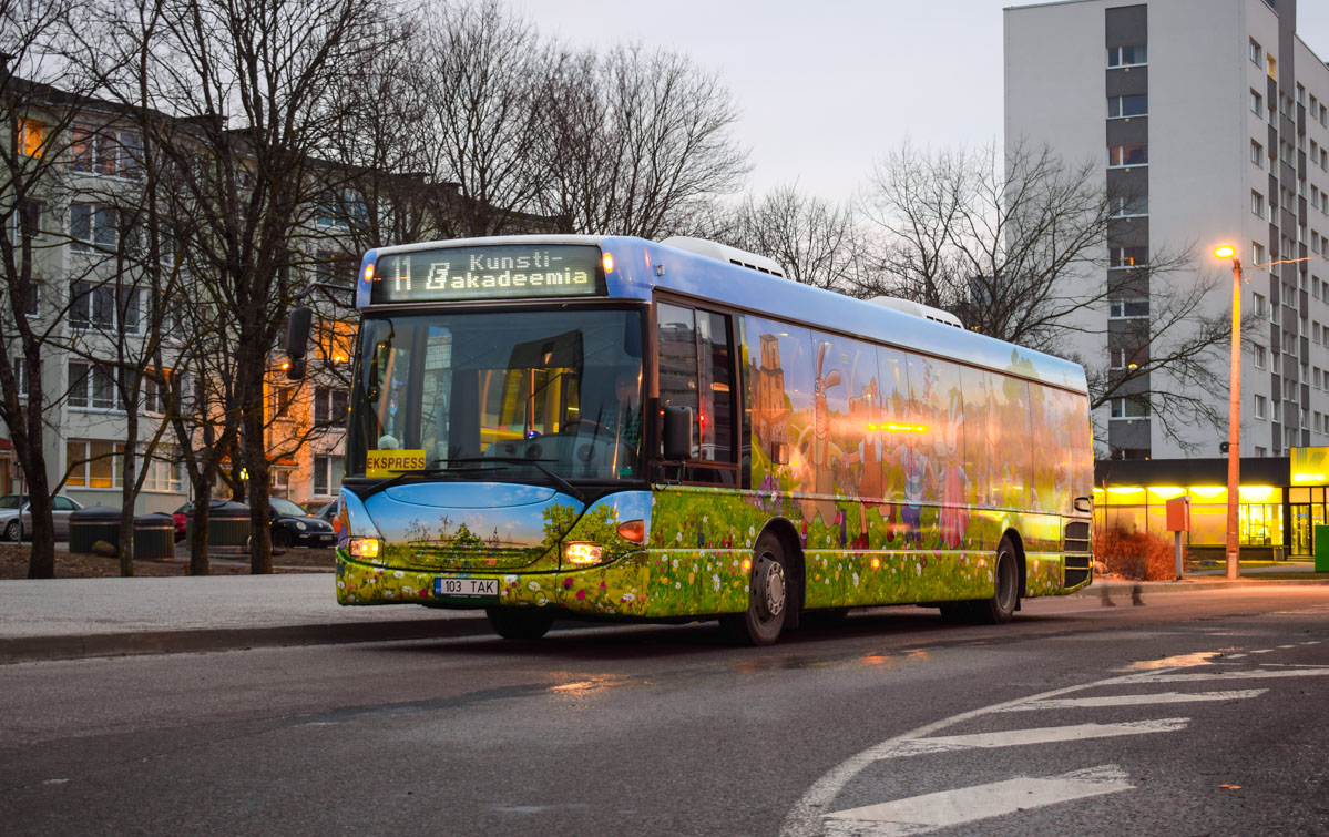 Tallinn, Scania OmniLink CL94UB № 1103