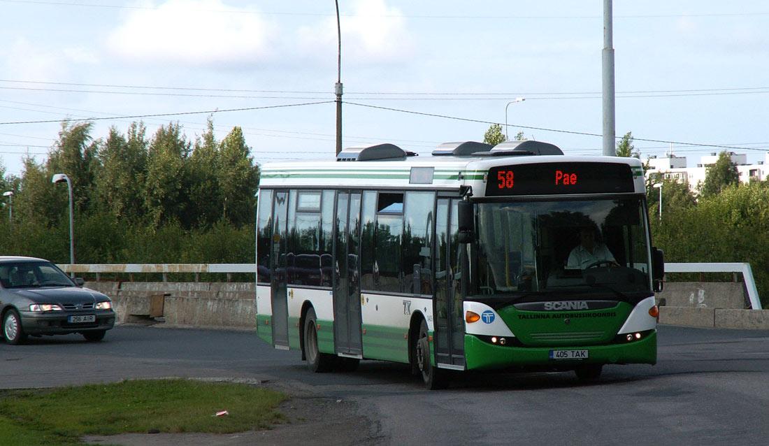 Tallinn, Scania OmniLink CK270UB 4X2LB № 3405
