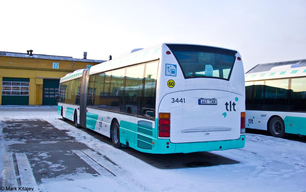 Tallinn, Scania OmniLink CL94UA 6X2LB № 3441