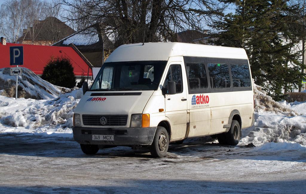 Kohtla-Järve, Volkswagen LT46 № 349 MCX