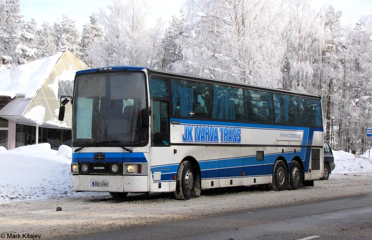 Narva, Van Hool T8 Alizée 360 № 802 AVH