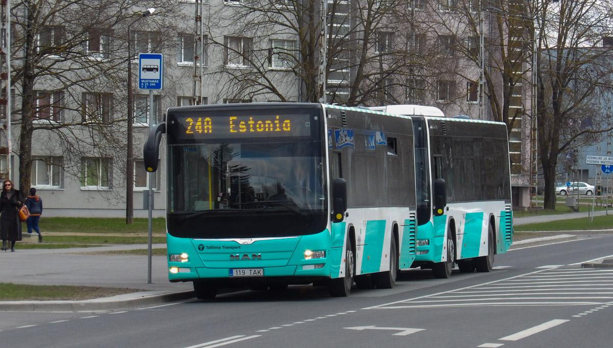 Tallinn, MAN A78 Lion's City LE № 1119