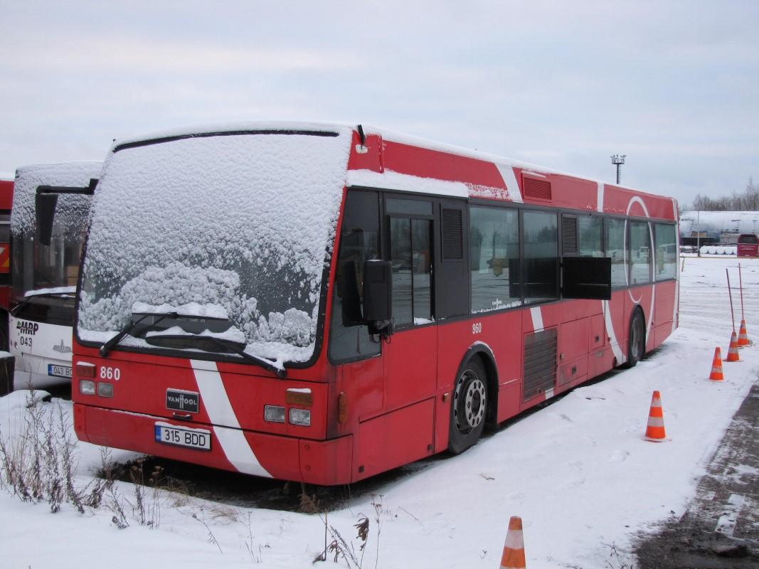 Tartu, Van Hool A300 № 860