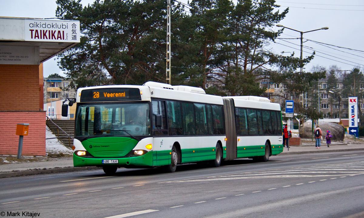 Tallinn, Scania OmniCity CN94UA 6X2 № 1486