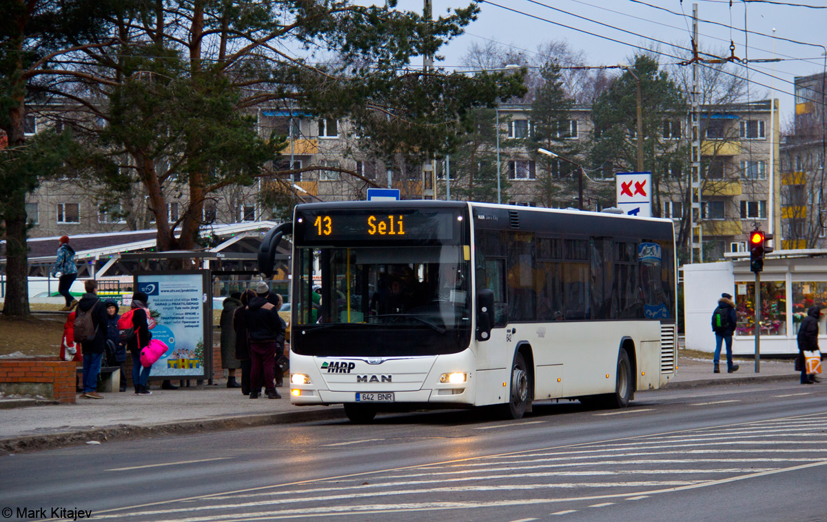 Tallinn, MAN A78 Lion's City LE № 642