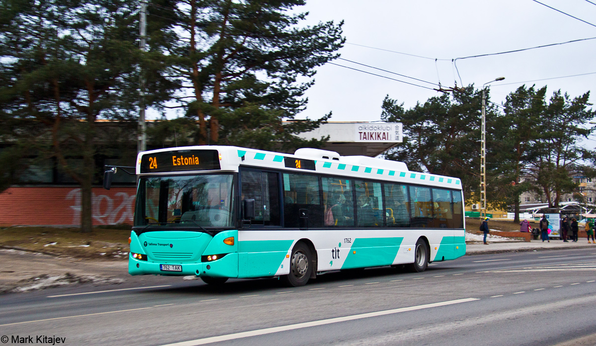 Tallinn, Scania OmniCity CN270UB 4X2EB № 1762