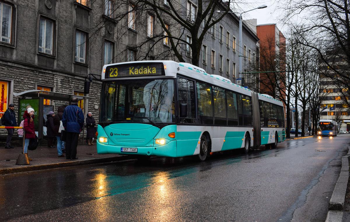 Tallinn, Scania OmniLink CL94UA 6X2LB № 1557