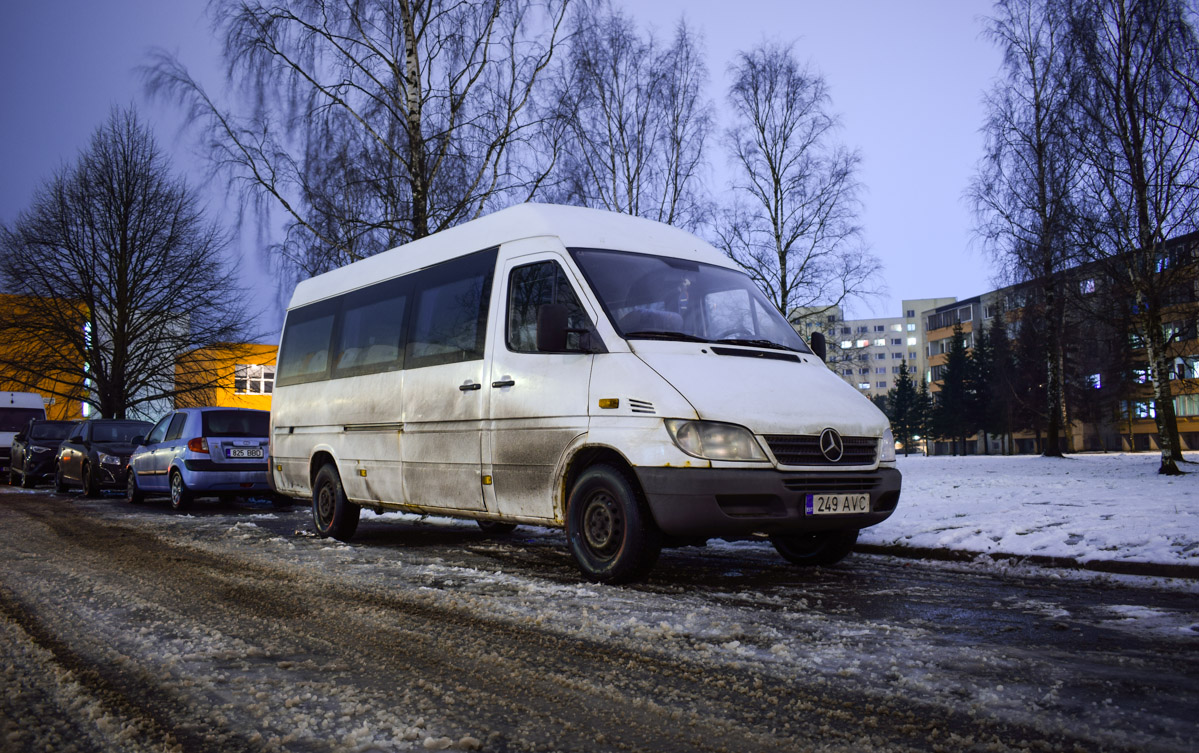 Tallinn, Mercedes-Benz Sprinter 313CDI № 249 AVC