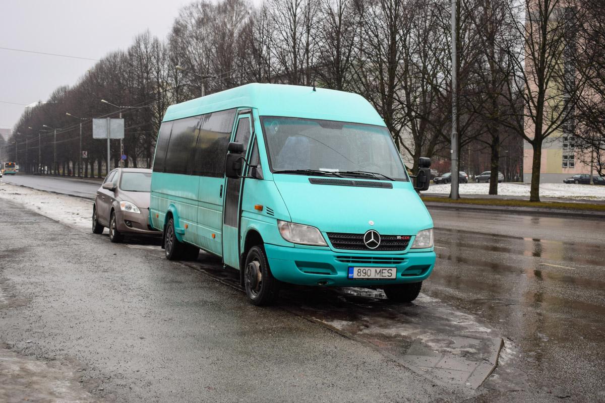 Tallinn, Mercedes-Benz Sprinter 416CDI № 890 MES