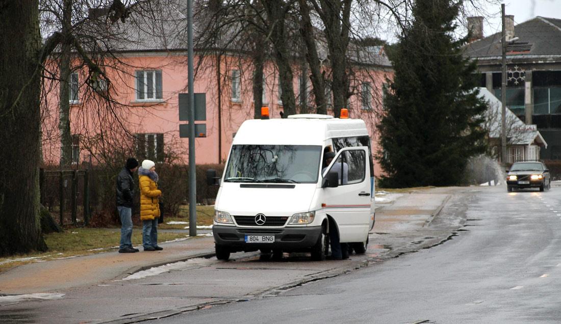 Tallinn, Mercedes-Benz Sprinter 413CDI № 804 BNG