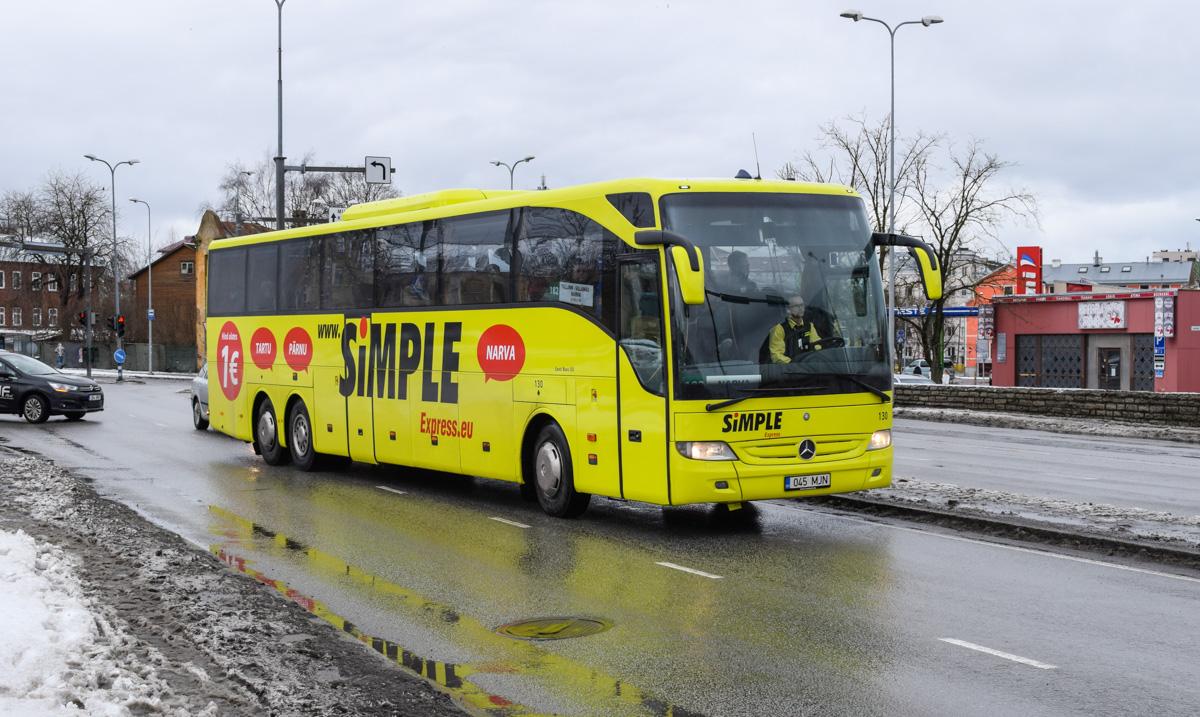 Tallinn, Mercedes-Benz O350-17RHD-II Tourismo L № 130