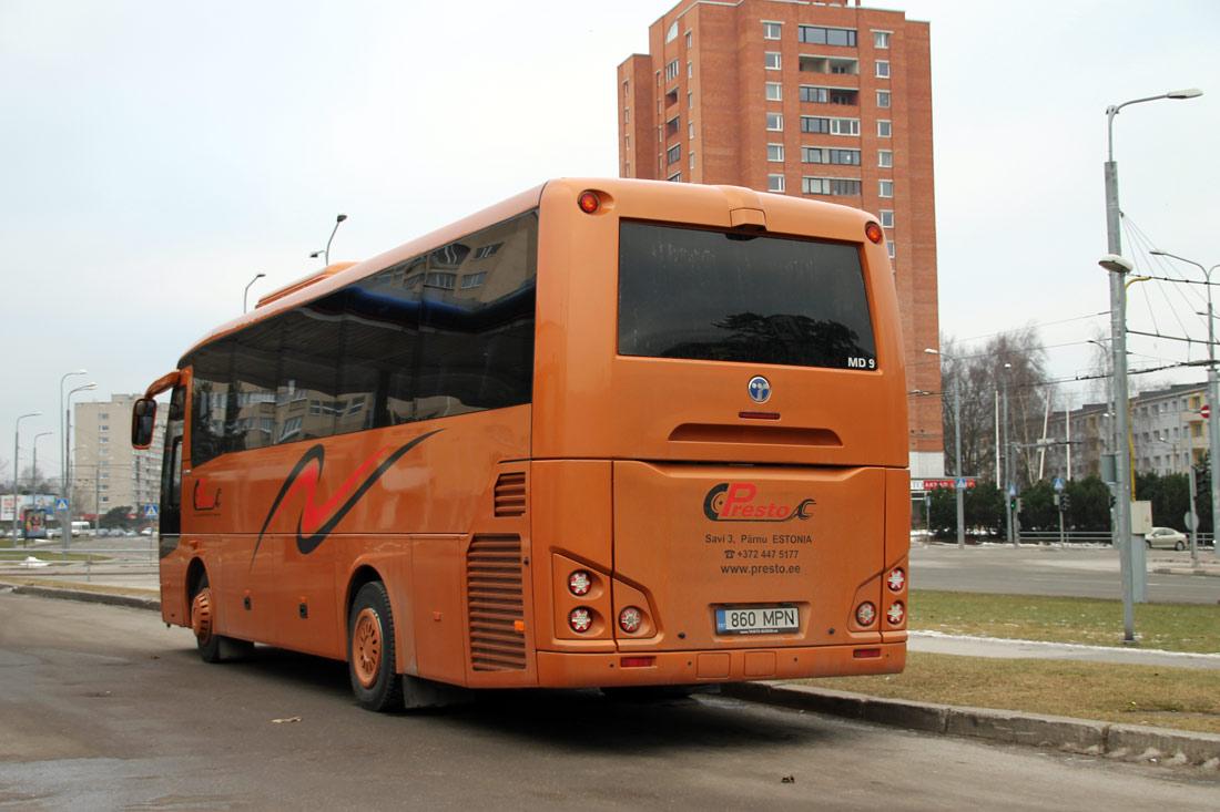 Pärnu, Temsa MD 9 IC № 860 MPN