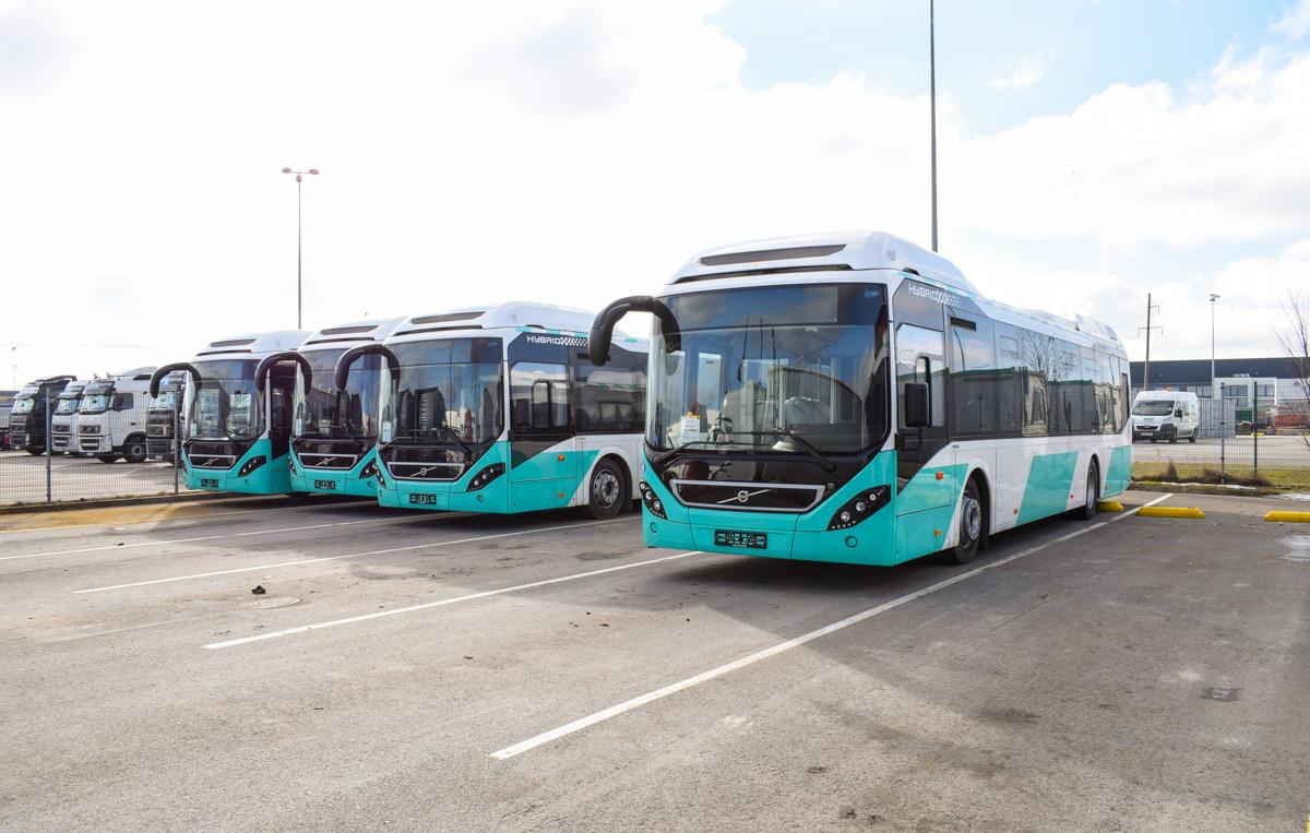 Tallinn — Volvo 7900 Hybrid busside II partii saabumised