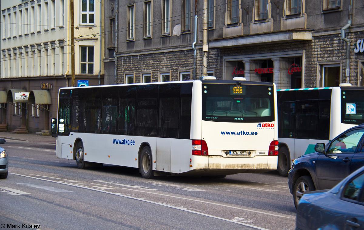 Tallinn, MAN A21 Lion's City NL283 № 374 BPY