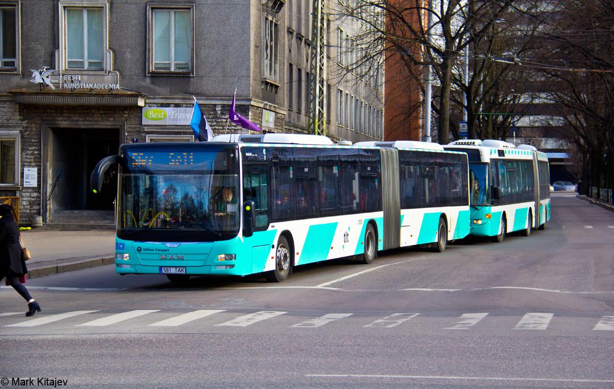Tallinn, MAN A40 Lion's City GL NG323 № 3581
